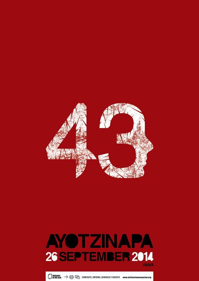 Poesía por Ayotzinapa
