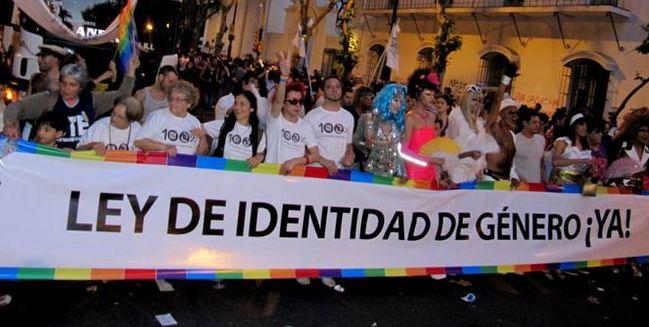 Congreso: Ley de identidad de género