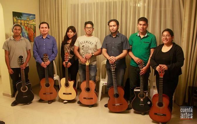 Taller de guitarra clásica a cargo de Aarón Alva