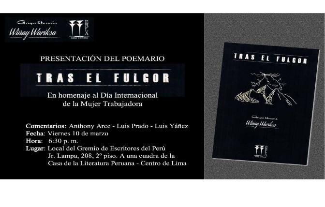 """CAPRICHO 09:  WIÑAY WARIKSA """"TRAS EL FULGOR"""""""